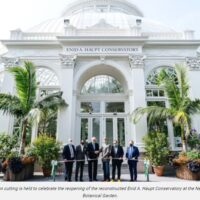 ENID A. HAUPT CONSERVATORY RESTORED TO PAST GRANDEUR