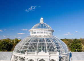 ICONIC CONSERVATORY DOME CONSTRUCTED IN 1902 IS RESTORED