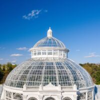 THE NEW YORK BOTANICAL GARDEN'S ENID A. HAUPT CONSERVATORY PALM DOME RECEIVES LUCY G. MOSES PRESERVATION AWARD