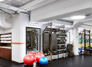 NEW YORK REAL ESTATE JOURNAL: EW HOWELL'S INTERIORS DIVISION BRINGS 10,000 SF FITNESS CENTER TO TWA HOTEL